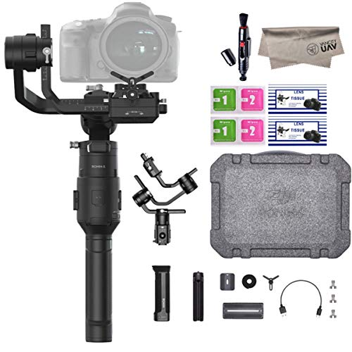 2019 DJI Ronin-S Essentials Kit 3-Axis Gimbal Stabilizer for Mirrorless and DSLR Cameras,...