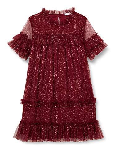 NAME IT Nkfritty Ss Dress Camp Kinderjurk voor meisjes