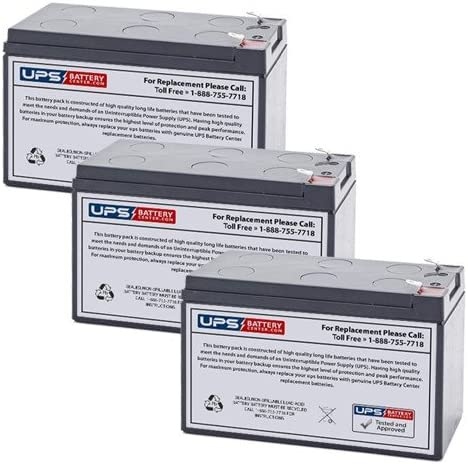 3 12V 7.2Ah F2 - MGE Super sale period limited Pulsar Replacement Battery High order Rack 10 New EX
