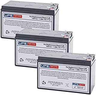 SUA1000RM1U Battery Pack Compatible Replacement for APC Smart-UPS 1000VA USB /& Serial RM 1U by UPSBatteryCenter