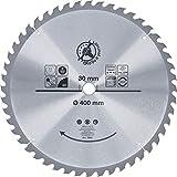 BGS Diy 3956 | Lame de scie circulaire en métal dur | Ø400 x 30 x 3,4 mm | 48 dents