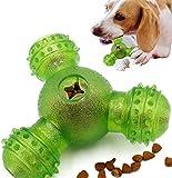 ZONSUSE Dispenser De Premios Juguete para Perros - Pelota para Premios de Perros,Dispenser de Comida,Juguetes Interactivos,para Perros medianos cazando y Jugando (Verde)