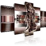murando - Cuadro en Lienzo 200x100 cm Buda - Abstracto Impresión de 5 Piezas Material Tejido no Tejido Impresión Artística Imagen Gráfica Decoracion de Pared 020113-290