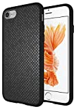 Diztronic Pixlee Black iPhone 7 Case/iPhone 8 Case, Pixlee Slim-Fit Flexible TPU Case for Apple iPhone 7/8 (Pixlee Black)