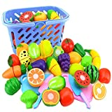 NIWWIN Play Food Set for Kids, P...