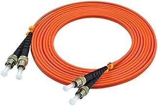 LC/SC/FC/ST 62.5/125 Duplex Multimode 3.0mm Fiber Optic Patch Cable (15m, ST-ST)