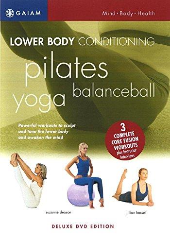 Lower Body Conditioning: Yoga, BalanceBall & Pilates