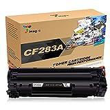 7 Magic CF283A 83A Cartuchos de tóner compatibles para HP 83A CF283A Uso para HP Laserjet Pro M125a M125nw M126a M126nw M127fn M127fw M128fn M128fw M201dw M201n M202dw M202n M225dn M225dw (1 Negro)