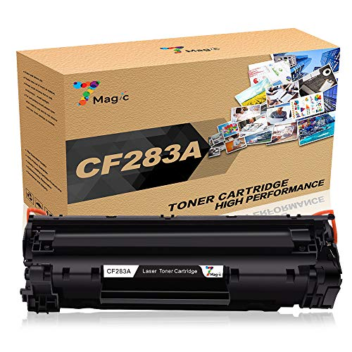 7 Magic CF283A 83A cartuchos tóner compatibles HP