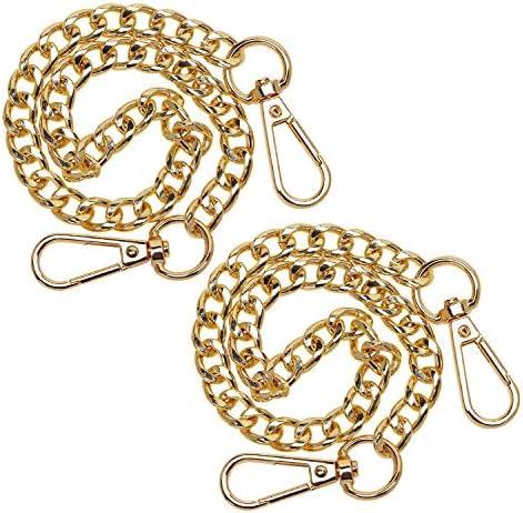 Penta Angel Iron Flat Bag Chain Strap 2 Pack 15 7 Long Purse Wallet Handbag Wrist Clutches Handles product image