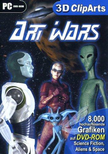 3D Cliparts - Art Wars
