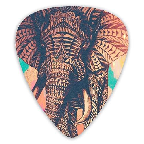 Púas de guitarra divertidas Explore Elephant, púas de guitarra de 12 piezas...
