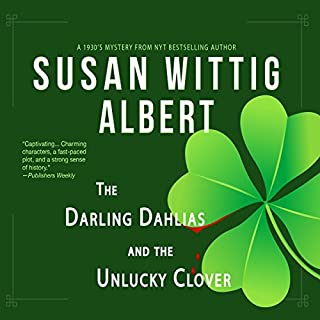 The Darling Dahlias and the Unlucky Clover cover art