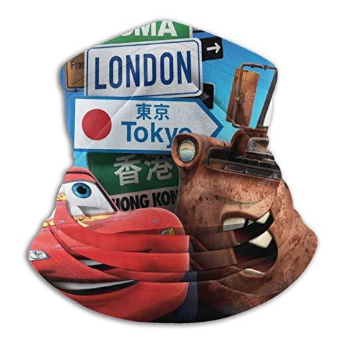 Custom made Cars-2 London Tokyo - Braga de microfibra para cuello para hombre y mujer