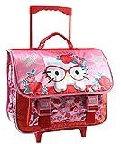 Jacob & Co. Hello Kitty Cartable à roulettes Enfants, 41 cm, Pink