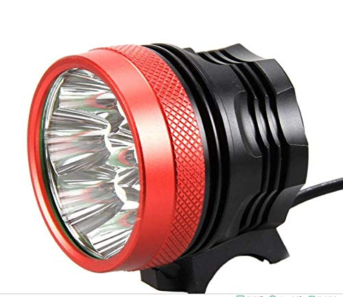Faro Bicicletta Anteriore led luce luci per Bici Bicicletta MTB,Torcia da testa Lampada frontale Bici Faro,(3 Modalità,7 LED) CREE 7X Cree XML di Luce led bici & Torcia a LED da Portachiavi