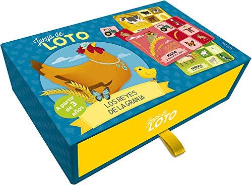 Auzou- juego, loto, Multicolor (85787)