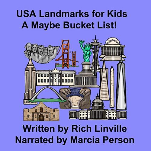 USA Landmarks for Kids audiobook cover art
