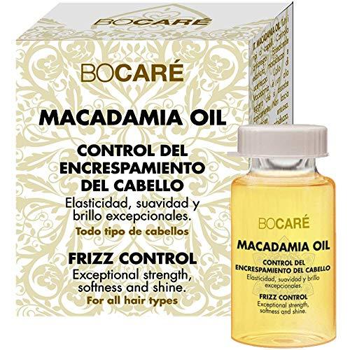 Bocaré Huile de macadamia et argan anti-frisottis pour cheveux 10 ml