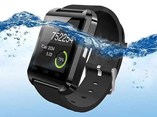 DOESIT Smart Watch,Touch Screen Bluetooth Smart Wrist Watch for Android Samsung LG Smartphones