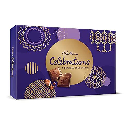 Cadbury Celebrations Premium Assorted Chocolate Gift Pack, 281 g