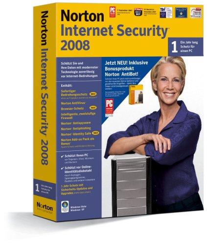 Norton Internet Security 2008 incl. Norton AntiBot - deutsch