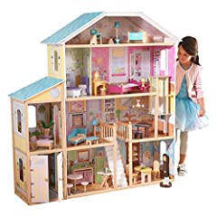 4 levels and 8 rooms Gliding elevator Garage doors open and close Smart, sturdy wood construction Packaged with detailed, step-by-step assembly instructions