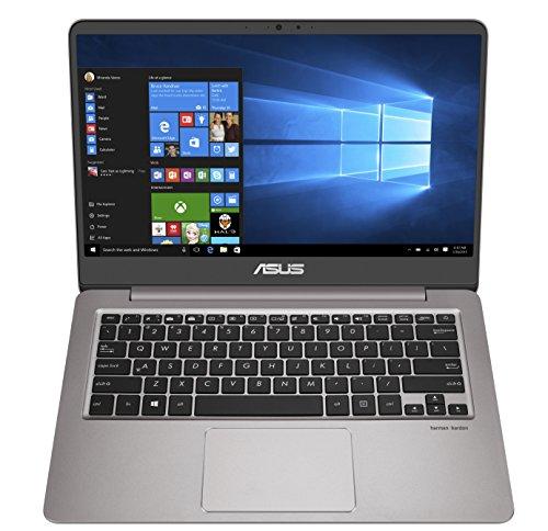 ASUS ZenBook UX410UA-GV027T Grigio Computer portatile 35,6 cm (14') 1920 x 1080 Pixel 2,50 GHz Intel Core i5 di settima generazione i5-7200U