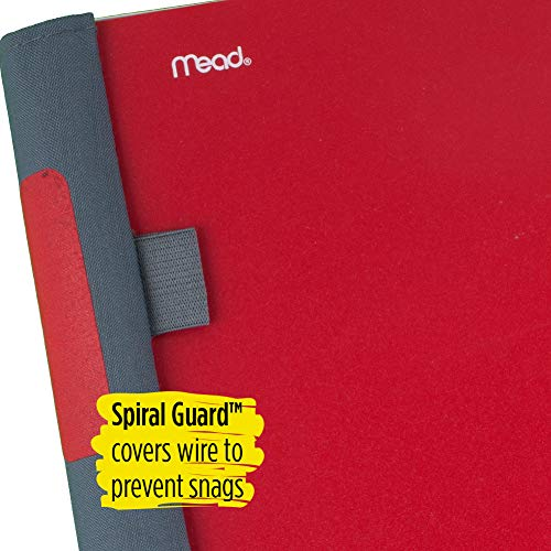 "Five Star Advance Spiral Notebook, 5 Subject, College Ruled Paper, 200 Sheets, 11"" x 8-1/2, Color Selected For You (06326) Photo #7"