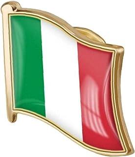 Bandiera Italiana Pin Badge di Metallo Spilla Spilla Italiana Bandiera Nazionale Emblema Badge Accessori novità