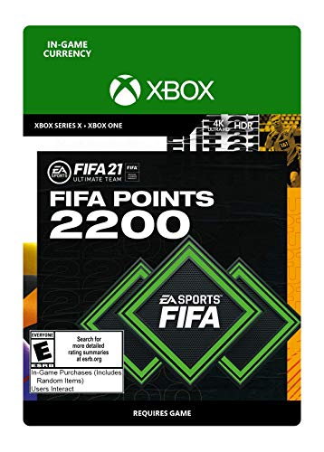 FIFA 21 Ultimate Team 2200 Points - Xbox Series X [Digital Code]