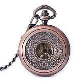 CFSAFAA - Reloj de bolsillo para hombre y mujer, reloj de bolsillo vintage para estudiantes de moda, reloj de bolsillo de moda, reloj adecuado para llevar en un bolsillo