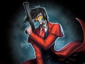 SV6065 Hellsing Alucard Vampire Gun Anime Manga Art 24x18 Print POSTER