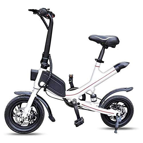 YLJYJ Foldable Two-Wheel Electric Scooter,Mini Battery Car Adult Lithium Battery Electric Scooter,Maximum Speed 35 KM/H(Exercise Bikes)