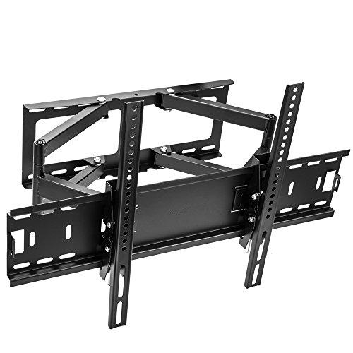 Vemount TV Staffa Supporto a Muro per 30 a 70 Pollici LCD LED Plasma TV Super-Forza capacità di carico Fino a 45kg 99 lbs, con orientabile inclinabile, Spirito Libero, Max VESA 600x400 mm