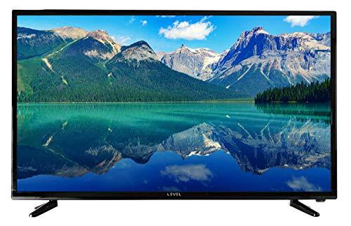 LEVEL 39 Pouces 99 cm TV HD8239 (TNT, Full Matrix LED Light, HD Téléviseur, Triple Tuner, CI +, HDMI, USB) Design Noir Brillant televiseur (modèle 2020)