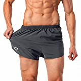 NAVISKIN Pantalones Cortos para Hombres Shorts Deportivos de Correr Fitness Secado Rápido Ligero Súper Transpirable Elásticos 7.6cm