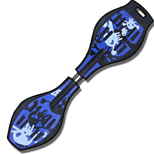 エスボードドクロデザイン 新感覚スケボー ジェイボード ESS ボード Sボード 専用ケース付き