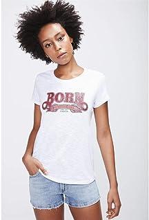 Camiseta com Detalhe Feminina