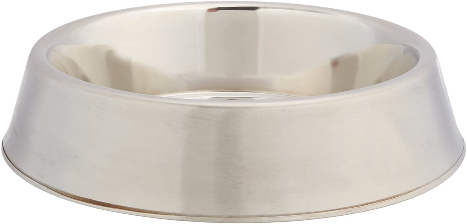 GoGo Pet Products Stainless Steel AntiAnt Pet Dog Bowl, 24Ounce