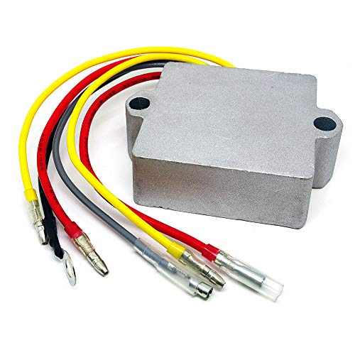 12 Volt 6 Wire Voltage Regulator For Mercury Mariner Outboard 25 to 250 HP Replace 815279-3,815279-5,815279T,830179-2,830179T,854515,856748,883072,883072T,8M0006034