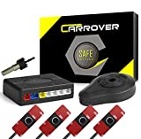 Car Rover Sensor Aparcamiento Kit 4 13mm Sensor Marcha Atras con Zumbador Bibi Alarma de Sonido...
