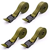 Boaton 4Pcs Tree Stand Stabilizer Straps, Tree Stand Accessories, Hunting Utility Strap for Holding Climbing Tree Stand and Backpack, Hanging Trail Cameras and Holding Gear