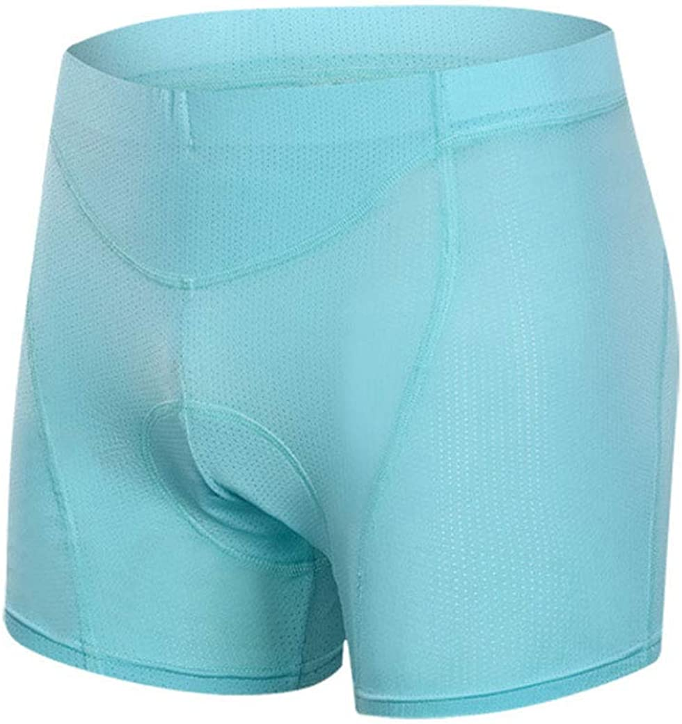 ZHENGKE Padded Mountain Bike Shorts Womens 3D Sponge Cycling Biking Underwear 3 Inseam