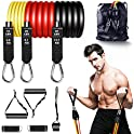 Senymin 9-Piece Exercise Resistance Bands Set