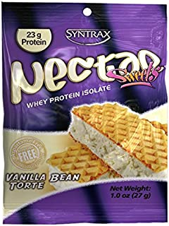 Syntrax Nectar Grab N' Go, Vanilla Bean Torte Powder, 27-Grams