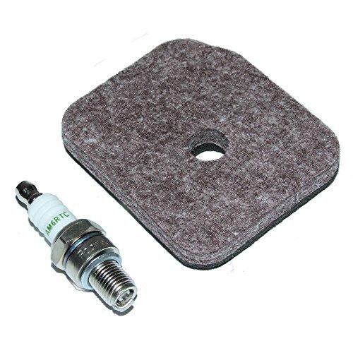 Stihl Luftfilter und Zündkerzen, passend für HS81R HS81T HS86R HS86T Heckenschere