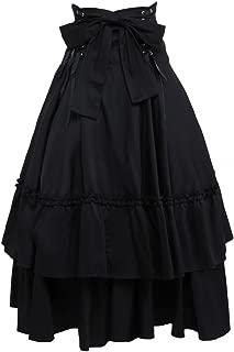 long black lolita skirt