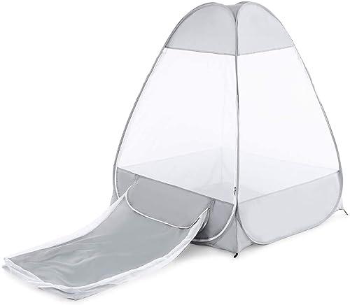 Qifengshop Tente de Camping extérieure de méditation de Moustique Se reposant dans la Tente de logeHommest détachable