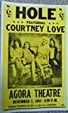 Hole with Courtney Love Vintage Poster Print